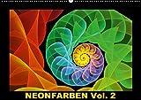 Neonfarben Vol. 2 / CH-Version (Wandkalender 2018 DIN A2 quer): Ein Fraktalkunstkalender für junge und junggebliebene Leute (Monatskalender, 14 Seiten ... Kunst) [Kalender] [Apr 01, 2017] Art, gabiw