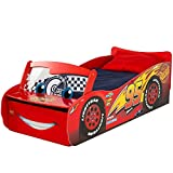Disney Cars Lightning McQueen 2 Kleinkinderbett - einschließlich Matratze