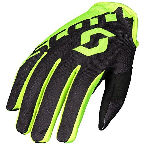 Scott Glove 250 Nero/Giallo L
