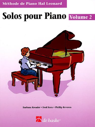 Piano Solos Book 2 - French Edition: Hal...