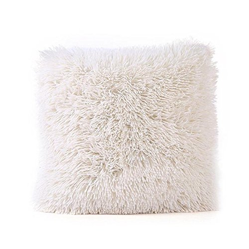 Sunnywill Kissen Fällen Sofa Taille Throw Kissen Cover Home Decor für Zuhause Nur Deckel (Beige)