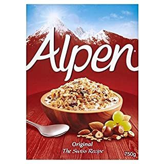 Alpen Original Muesli (750g) - Pack of 2