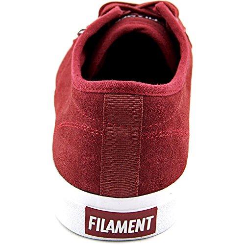 Filament Vance Hommes Daim Chaussure de Basket Dark Red