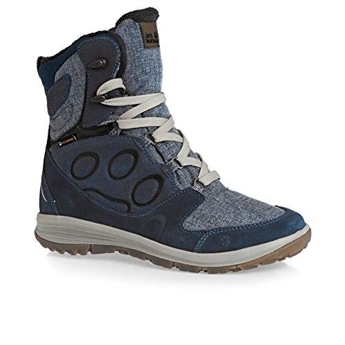 Jack Wolfskin Vancouver Texapore High W, Chaussures de Randonnée Hautes Femme, Bleu