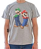 DreamGirl Super Mario Bros. Graphics Mens T-Shirt Small
