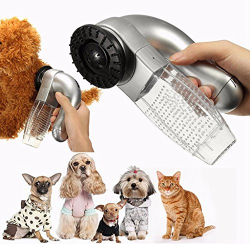 Pet Hair Fur Cleaner Trimmer,Malloom Cat Dog Pet Hair Fur Remover Shedd Grooming Brush Comb Vacuum Cleaner Trimmer Test