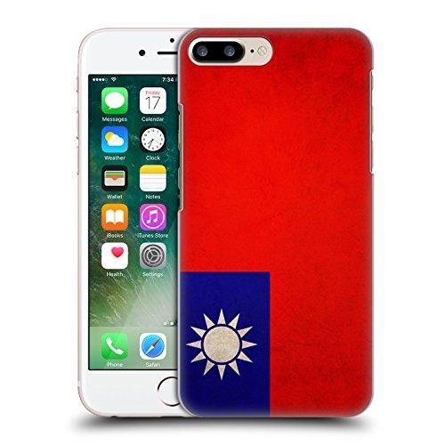 Head Case Designs Türkei Türkisch Vintage Fahnen Ruckseite Hülle für Apple iPhone 6 Plus / 6s Plus Taiwan Taiwanese