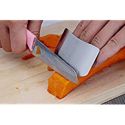 SYGA Stainless Steel Finger Protector Safe Chopping Hand Guard Slice Kitchen Tool