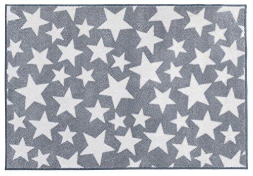 Kit for Kids MAT9000 - Tapete de decoración, 100 x 150 cm, color gris