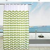 Duschvorhänge wasserdicht schimmel beweis verdicken sie tür vorhang vorhang abgeschnitten polyester-C