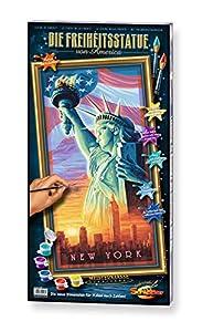 """Schipper 609220496 -  Juego de pintura por números diseño """"Estatua de la Libertad"""", 40 x 80 cm importado de Alemania"""