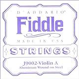 D'Addario 4/4 tensión media báscula individual un cordel para violín