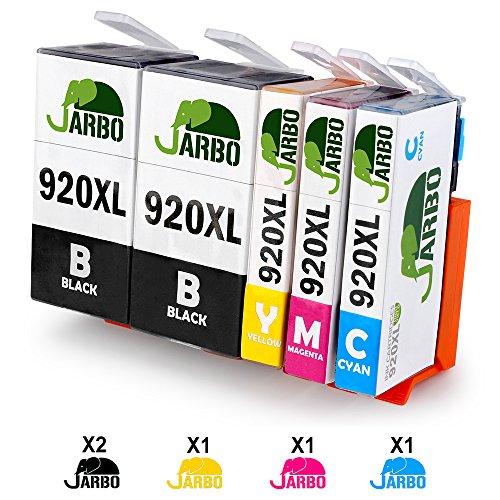 JARBO Kompatibel HP 920XL Tintenpatronen Hohe Kapazität Kompatibel für HP Officejet 6000...