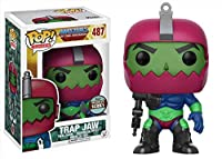 - Figurine Master Of The Universe - Trap Jaw Speciality Series Exclu Pop- Matière vinyl- Vendu sous window box- Taille 10cm
