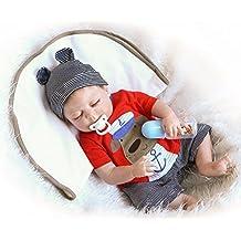 NPK Collection Reborn Baby Doll Soft Silicone 22inch 55cm Newborn Baby Doll realista de vinilo muñecas muñeca nueva