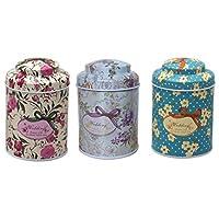 Rétro Maison de cuisine en métal Pot de pot de café, thé, sucre Boîtes de rangement Cadeau 1pièce