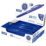 Dlugopis Milan P1 rubber touch niebieski 25 sztuk