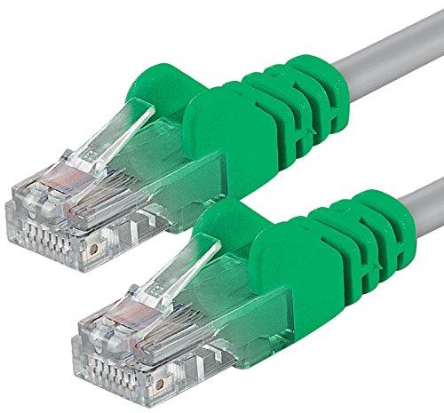 1aTTack CAT 6 Crossover UTP Netzwerk Patch-Kabel mit 2X RJ45 Stecker 3m -