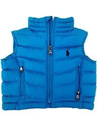 Ralph Lauren New GenuineBaby Boys Gilet Bodywarmer Jacket Coat - Horizon Blue