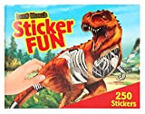 Depesche 3359 - Malbuch Sticker Fun, Dino World