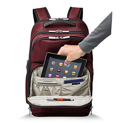 Briggs & Riley Transcend Cargo Backpack, 17″, 24.5 litres, Slate Mochila tipo casual, 46 cm, liters, Gris (Slate)