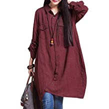 4fef7342af Amazon.it: camicia bianca - Rosso
