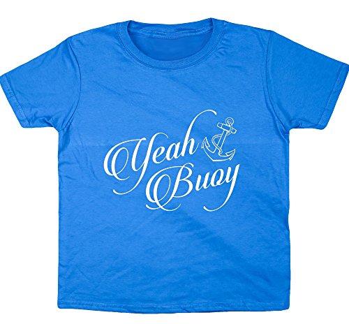 hippowarehouse-ja-boje-kids-short-sleeve-t-shirt-gr-12-13-jahre-saphirblau