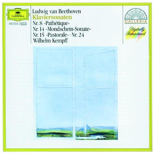 BEETHOVEN - Kempff - Sonates pour piano n°8, 14, 15, 24