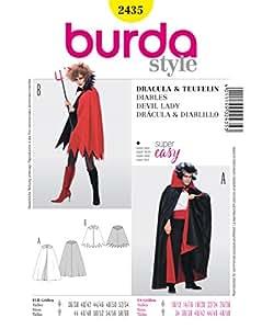 Patron de couture burda 2435–vampire dracula (homme)