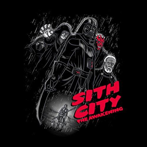 Star Wars Sith City The Awakening Women's Hooded Sweatshirt Black
