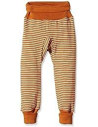 Cosilana Pantalon de bébé long avec ceinture Composition 70 % laine et 30 % soie kbT