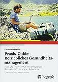 Praxis-Guide Betriebliches Gesundheitsmanagement: Tools und Techniken für eine erfolgreiche Gesundheitsförderung am Arbeitsplatz - Cornelia Schneider