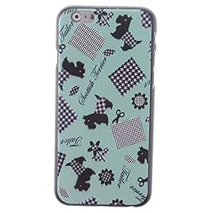 """Moonwalk ® Motif Scottish Terrier Motif Etui Coque de protection arrière rigide pour Apple iPhone 6 Plus 5,5 """""""
