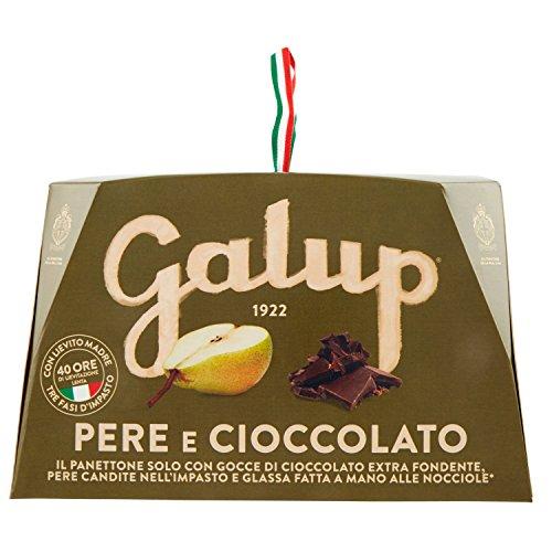 Galup nv16 panettone pere e cioccolato, 750 gr