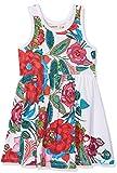 Desigual Mädchen Kleid Vest_RINCMONF, Weiß (Blanco 1000), 152 (Herstellergröße: 11/12)