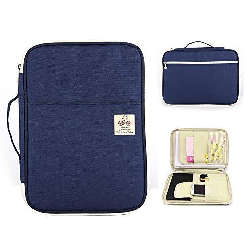 Boarding Veranstalter (aimeio Multifunktions handliche A4Portfolio Bag Wasserdicht Dokument Veranstalter Tote Buchstabe Größe Datei holder-13