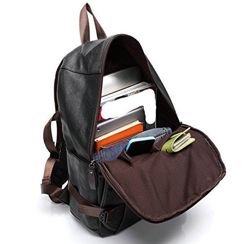 LAIDAYE Herrenmode Sport Lässige Umhängetasche Schultertasche Rucksack Reisetasche 1