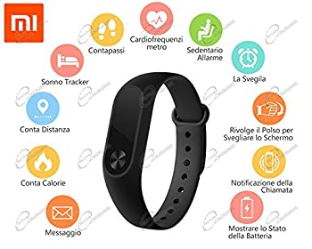 Xiaomi Mi Band 2 Smartwatch Oled Heart Rate Monitor Touchpadbluetoothandroid 4.4ios 7.0 Versions & Above 1