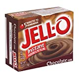 Jell-o Jello Instant Chocolate Pudding 3.9oz 110g Jello (2 Packs)