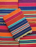 #1: Cotton Carpet / Solapur Carpet/Satranji / Bhavani carpet in Multicolours VJPATTA MULTIPURPOSE CARPET