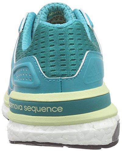 adidas Supernova Sequence Boost 8, Chaussures de Course Femme Vert (Green (Shock Green/Shock Green/Halo)Shock Green/Shock Green/Halo)