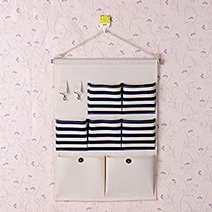 yiliay streifen design h ngeaufbewahrung bad h ngeorganizer t r wand organizer mit. Black Bedroom Furniture Sets. Home Design Ideas