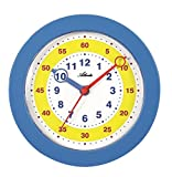 Ti piace il vostro bambino insegnare l' ora? Con questo orologio da parete il bambino impara giocando facilmente leggere l' ora. La superficie puntatore facilitare la mappatura delle ore e minuti. L' orologio da parete ha una dotazione Super:...