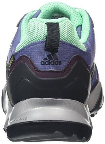 adidas Terrex Swift R Gtx, Chaussures de Trekking et Randonn&EacuteE Femme Violet - Violett (Super Purple S16/Core Black/Mineral Red S16)