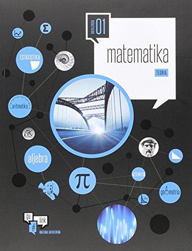 Matematika batxilergoa 1 (gulink) - 9788491060284