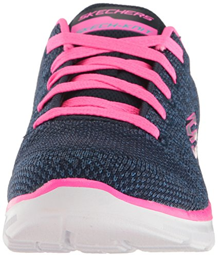 Skechers Mädchen Skech Appeal 2.0-High Energy Sneaker Blau (Navy/hot Pink)