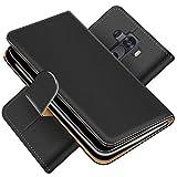 Conie Handytasche für LG G3 Cover Schutzhülle im Bookstyle aufklappbare Hülle aus PU Leder Farbe: Schwarz