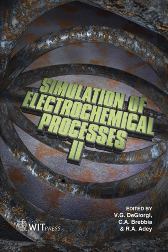 Simulation of Electrochemical Processes: II: 54 (WIT Transactions on Engineering Sciences)