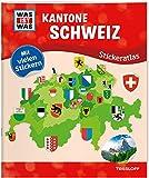 WAS IST WAS Stickeratlas Kantone Schweiz