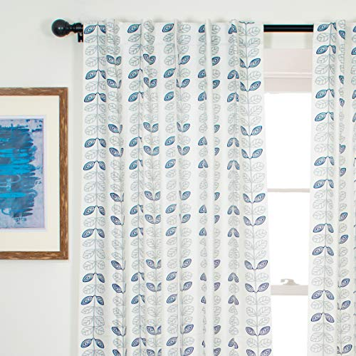 check MRP of door curtains blue Portobello Curtain Co.